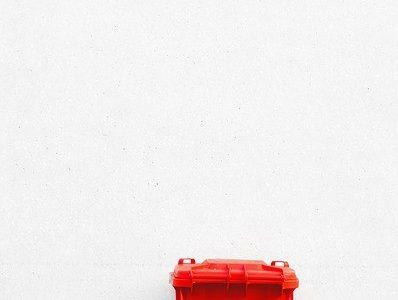 Een rolcontainer voor je afval